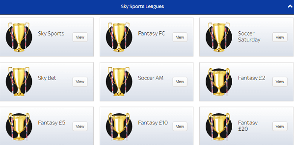 Sky Dream Team League