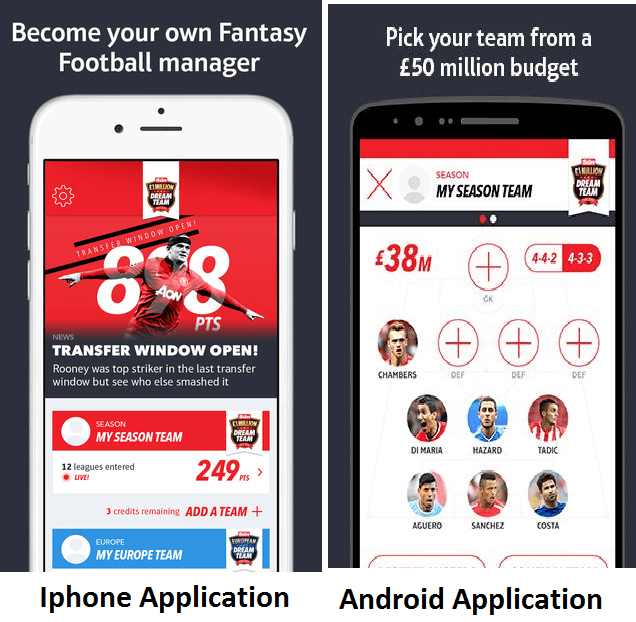 Sun Dream Team App