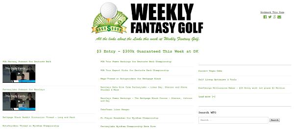 Telegraph Fantasy Golf