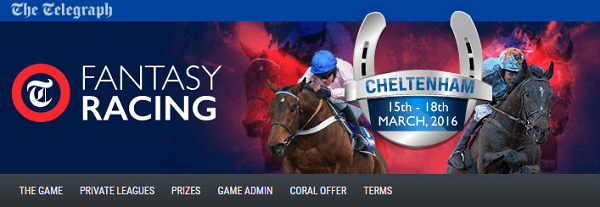 Telegraph Fantasy Racing