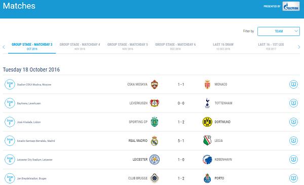 UEFA Fantasy Football