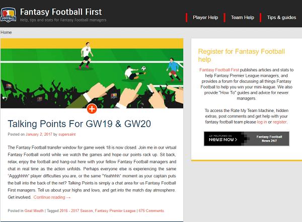 www Fantasy Football First com