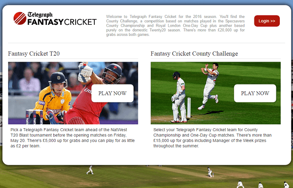 Telegraph Fantasy Cricket